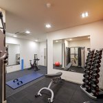 The Lodge Hotel Gym