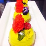 Desserts in Park Restaurant prepared by Chef Dinesh