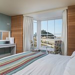 Sea view, dog-friendly room