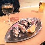 Cuatro ostras