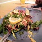 Ensalada con salmon