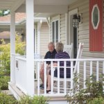 Be one with nature on your front porch, wonderful for that early cup of coffee!