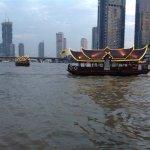The view fom the Riverside Terrace Mandarin Oriental Restraunt
