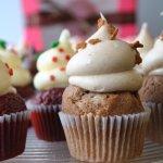 Holiday cupcakes at Cupcake DownSouth