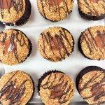 Salted Caramel Chocolate cupcakes at Cupcake DownSouth