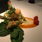 A fantastic appitizer, Shrimp and Avocado Tempura