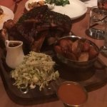 Chicken and Ribs share platter
