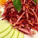 Прекрасный салат из свеклы