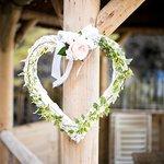 Wedding Heart on Gazebo