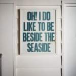 Seaside Print Inside