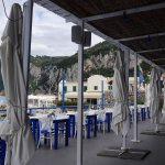 Beach setting at Ristorante da Gemma