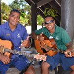 The staff at Viwa Island Resort love to sing
