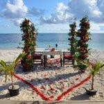 Romantic beach dinner for my 50th birthday