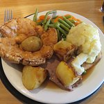 roast beef and turkey from the carvery