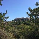Ancient Agora View of Acropolis