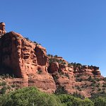 View overlooking Boynton Canyon