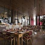 Il ristorante Rinuccio 1180, l'interno