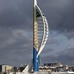 Emirate Spinnaker Tower from the water bus