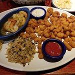 Shrimp Combo Dinner