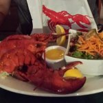 Lobster Dinner with Salad