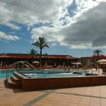 main pool and jacuzzi