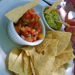 You have to have chips, guac & salsa with a beer on the beach! The flavor is outstanding!