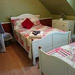 Chambre #5 avec 2 lits double