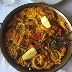 Join us for our weekly paella evening!