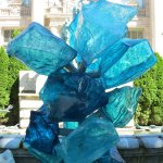 Chihuly at the NYBG - exploring the grounds and encountering wonderful sculpture