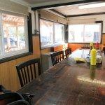 OREGON Fields Station cafe interior