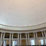 a peek at the Rotunda oculus
