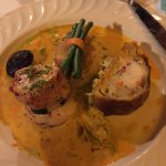 Scallop and seafood pastry