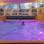 Nice pool and sauna facilities