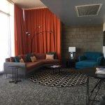 Hotel suite living room!