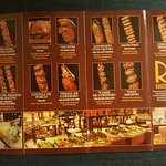 This is a menu of all the meat that come around and you can eat. Not a place for vegetarians.