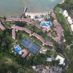 Air view of resort