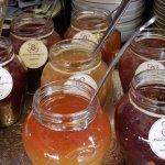 breakfast - jellies and jams