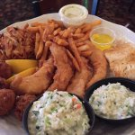 Our Friday Fish Fry for Two