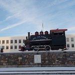 Alaska Railroad Depot, WINTER scenes, Anchorage, AK.