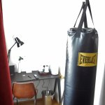 full-size heavy punching bag