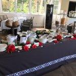 Buffet breakfast in Treetops restaurant