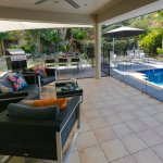 Outdoor lounge / dining patio