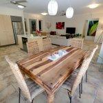 Open plan lounge , dining & kitchem