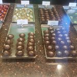 some more of their gorgeous homemade chocolates!