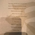 omakase food menu - a 4 1/2-hour feast for all the senses