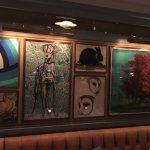 Dinner at The Ivy, Harrogate was sublime. The food is excellent , the garden, the paintings, the