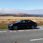 Driving across Dartmoor