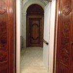 couloir porte de notre chambre