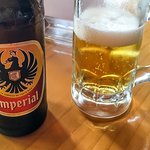 Enjoying a Cold Costa Rican Beer