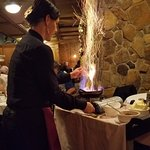 Bananas Foster table-side